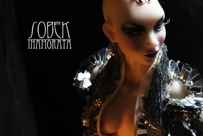 Sobek Inamorata OOAK Nnaji Milk Busty doll emiliacouture