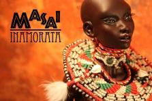 Masai Inamorata OOAK emiliacouture bjd doll Nnaji