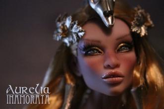 Aurelia Inamorata OOAK Charo Busty Latte art doll bjd haute couture emiliacouture em'lia