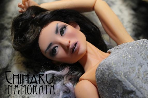Chiharu Inamorata 1.0 OOAK Miao Busty Peach art doll bjd haute couture emiliacouture em'lia