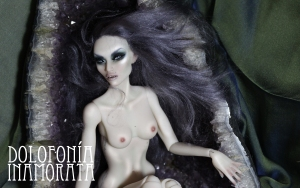 Dolofonia The Sirens Twins Inamorata 2.0 OOAK Charo Busty Milk art doll bjd haute couture emiliacouture em'lia